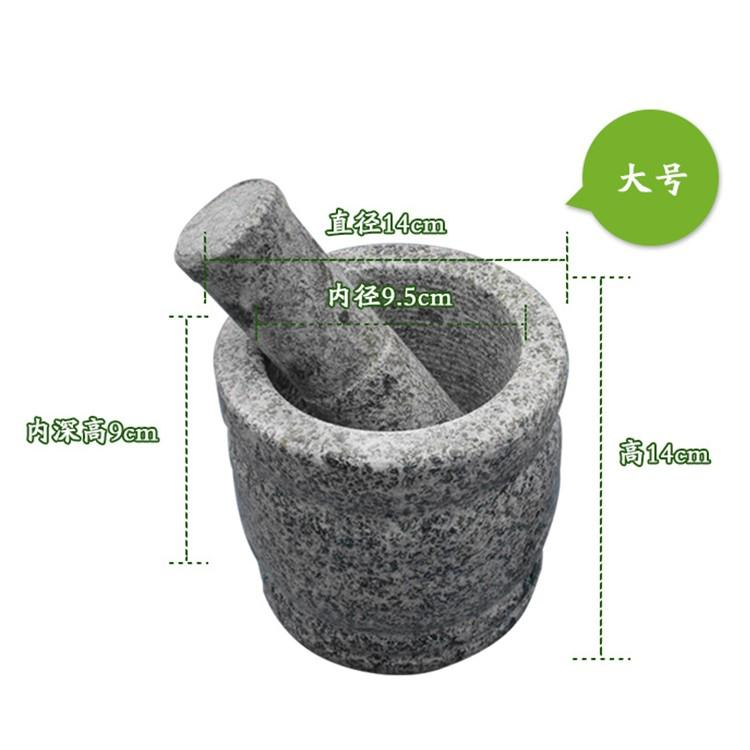 Rural old-fashioned mortar and pestle that works
