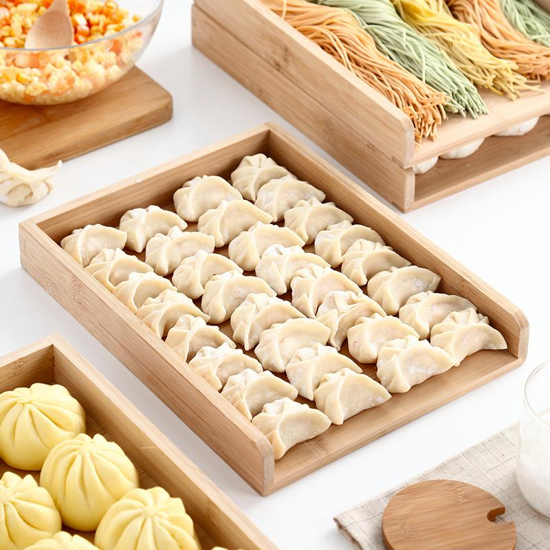 Dumpling tray for multi-layer dumplings