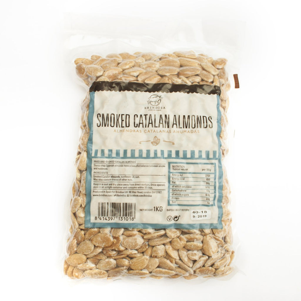 Smoked Catalan Almonds (1kg)