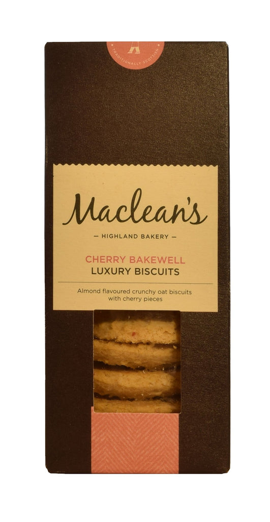 Cherry bakewell luxury biscuits