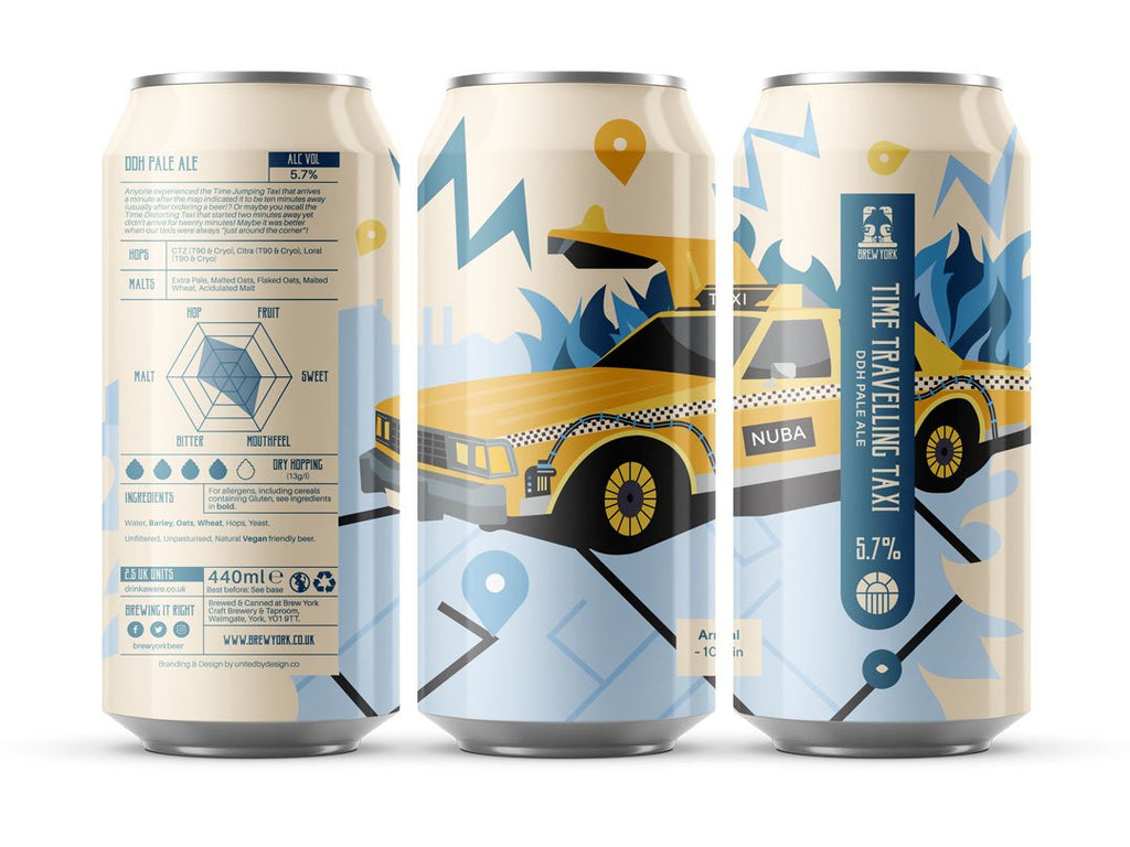 Time Travelling Taxi (440ml|)