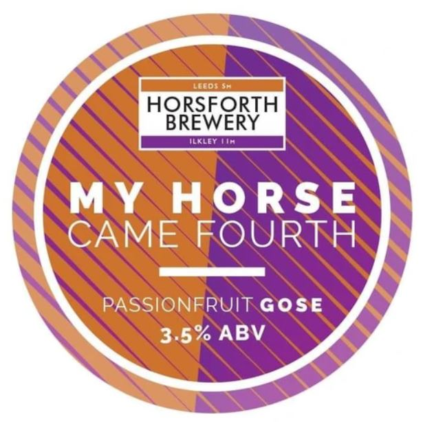 My Horse Came Fourth - Passion Fruit Gose