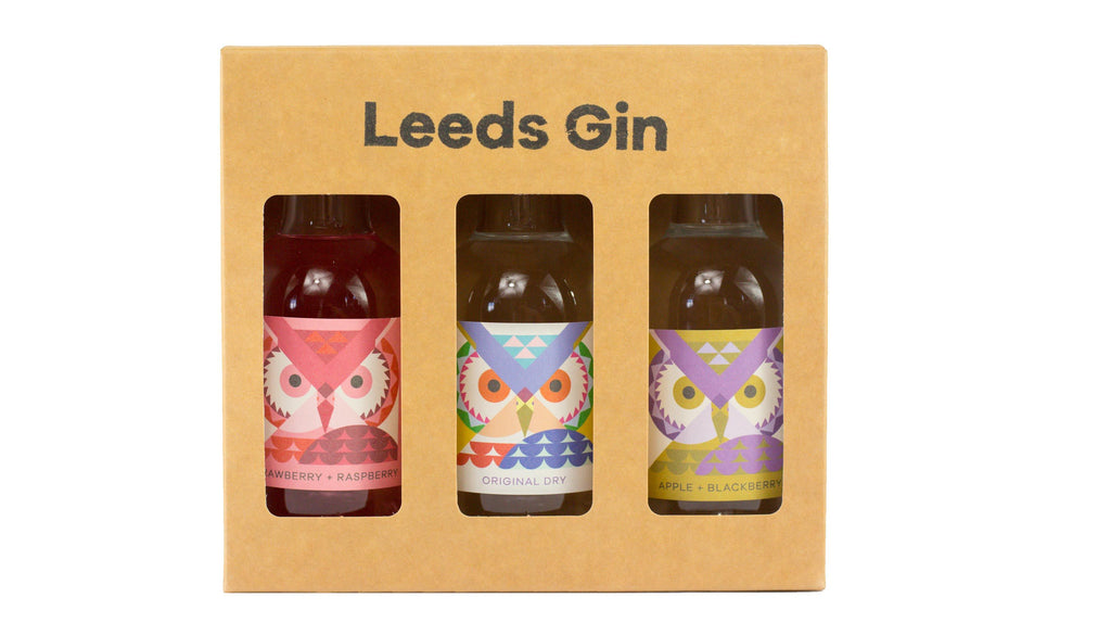Leeds Gin Gift pack (3 x 20cl)