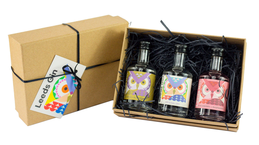 Leeds Gin Mini set gift pack (3 x 5cl)