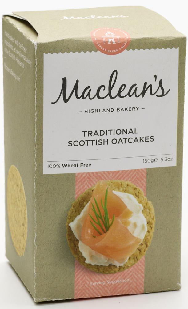 MacLean's Scottish Oatcakes (150g)