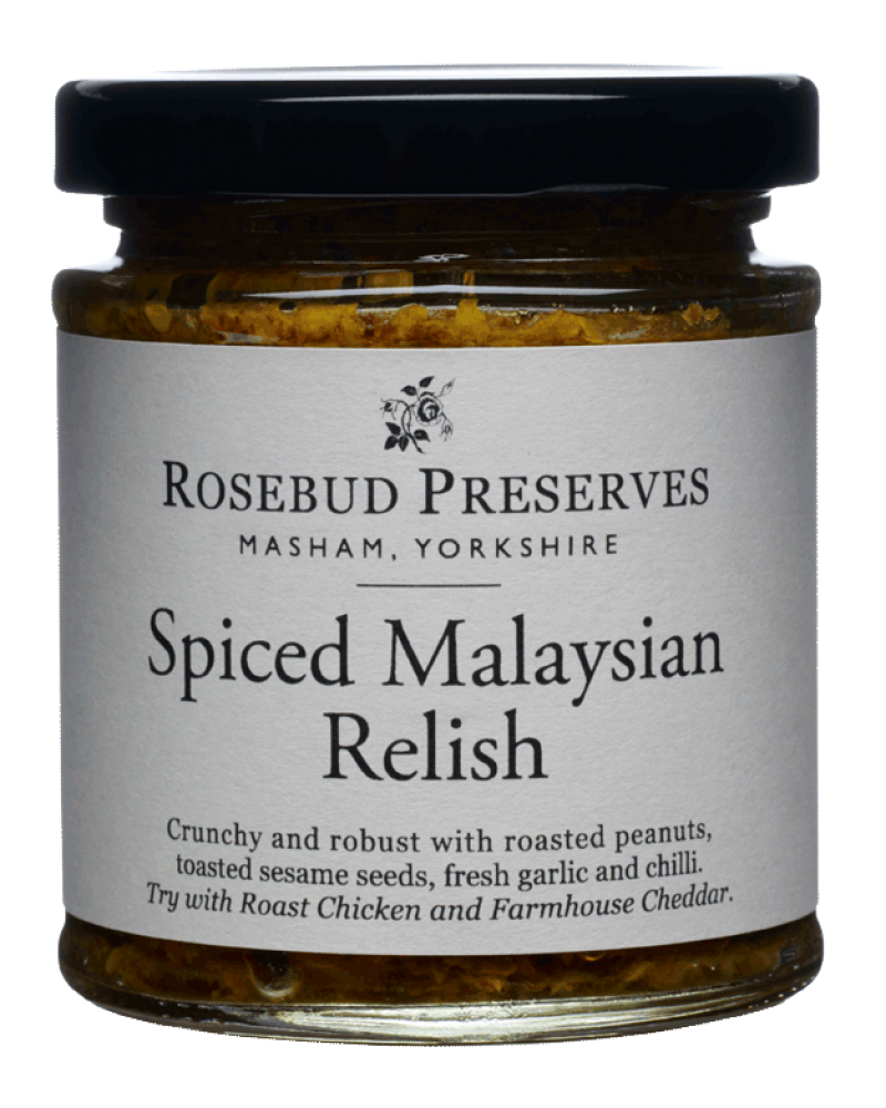 Spicy Malaysian Relish (Peanut & Chilli)