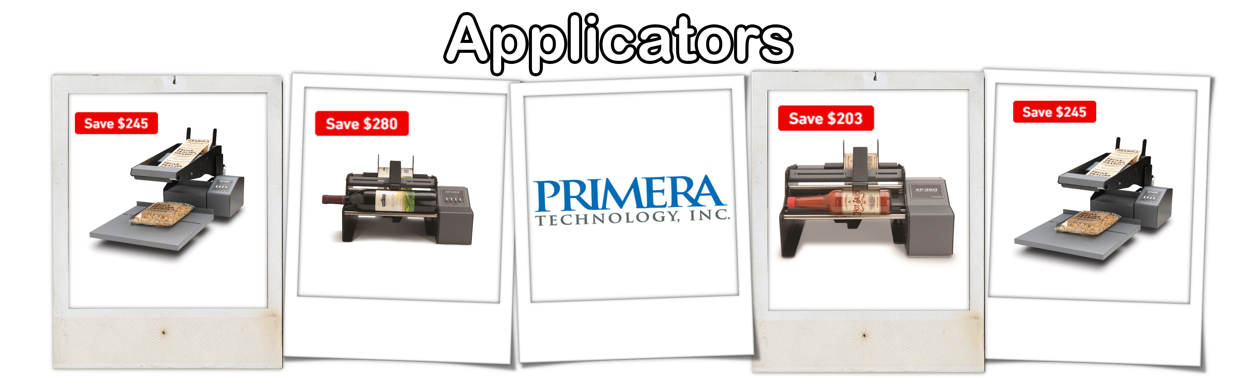 ForeFront Label Solutions - Applicators