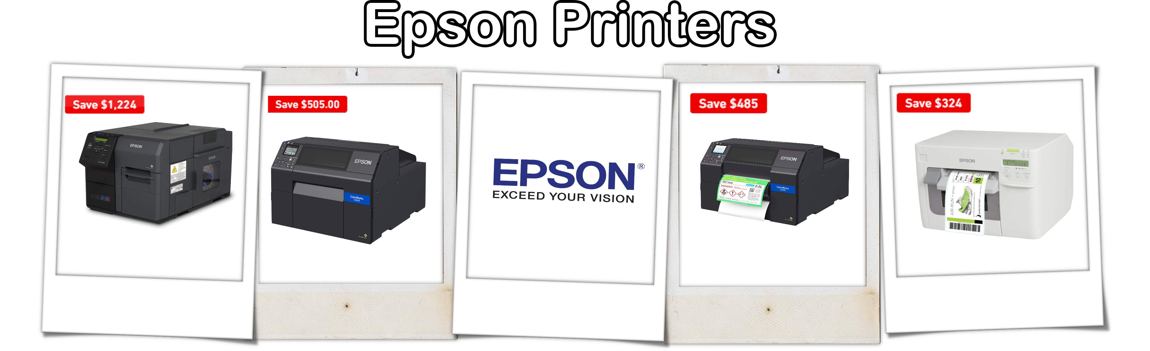 ForeFront Label Solutions - Epson Printers Sale