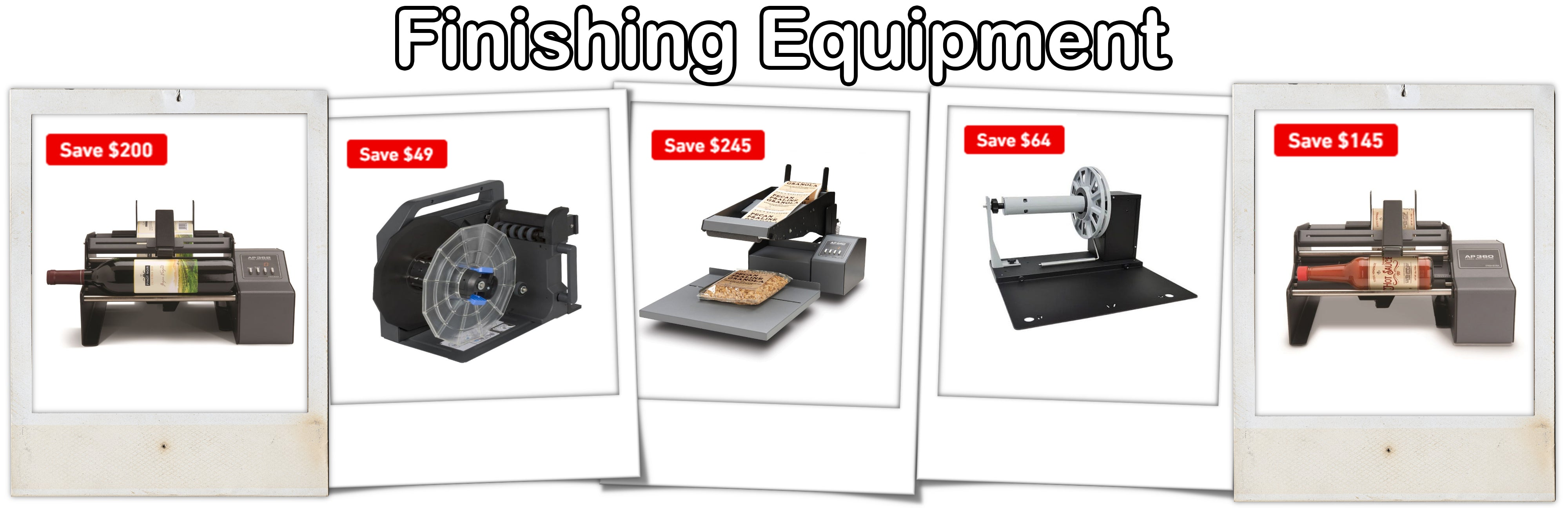 ForeFront Label Solutions - Finishing Equipment Sale