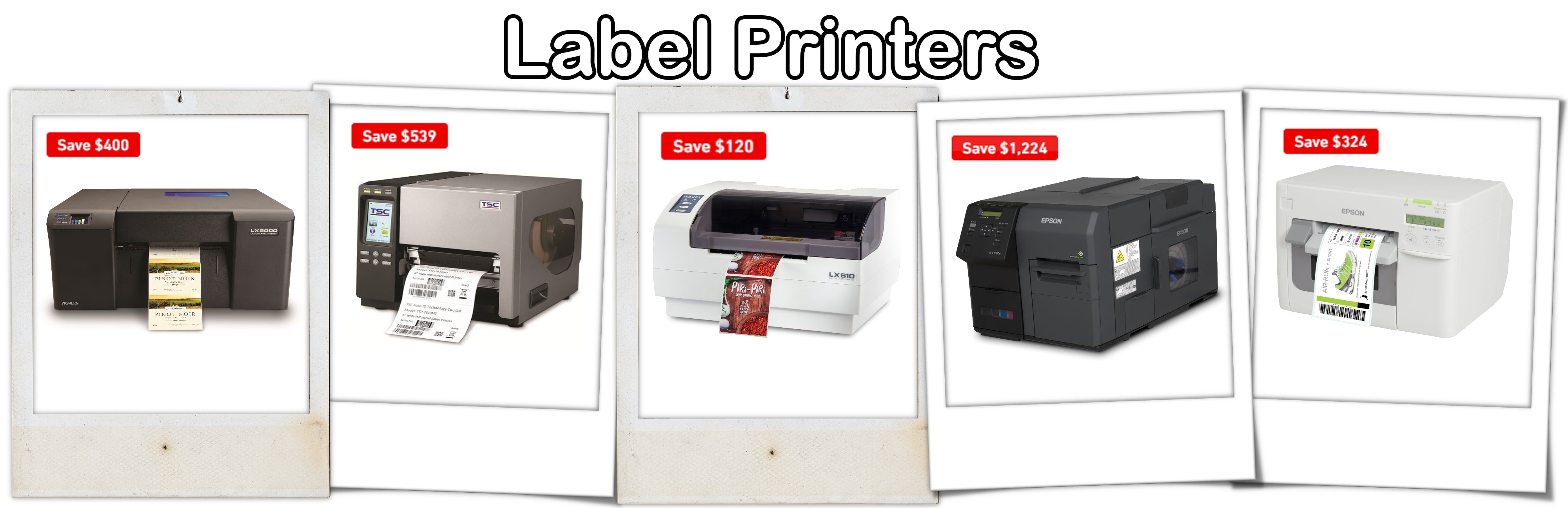 ForeFront Label Solutions - Label Printers Sale