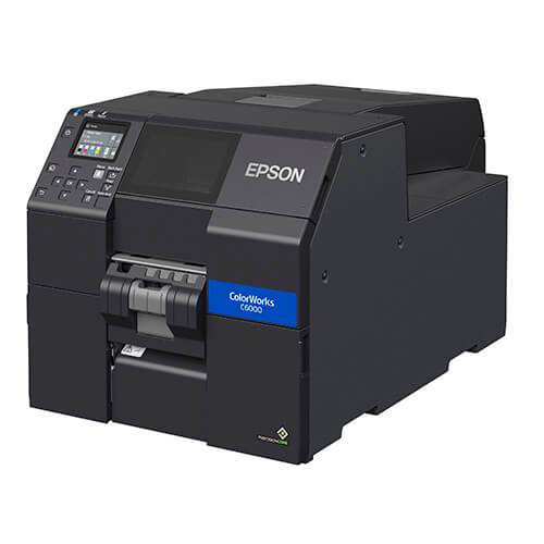 "Epson CW-C6000P ColorWorks 4"" Label Printer with Peel-and-Present"