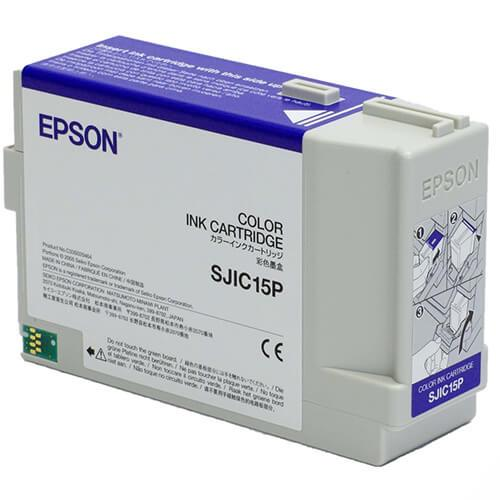 Epson TM-C3400 ColorWorks Color Ink Cartridge, SJIC15P