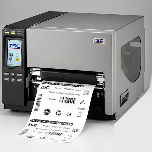 TSC TTP-384MT Industrial Thermal Printer, 300 dpi