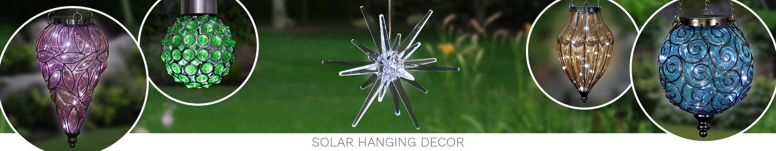 Solar Hanging Decor