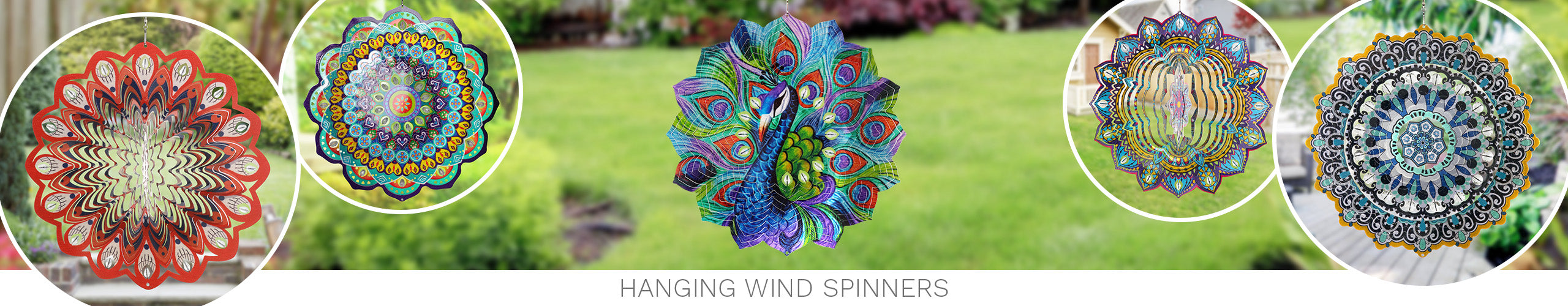 Hanging Wind Spinners