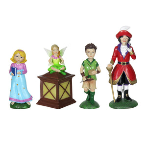 Exhart Neverland Miniature Fairy Tale Gardening Set with Four Pieces