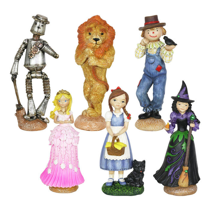 Oz Land Miniature Fairy Tale Gardening Set with Six Pieces