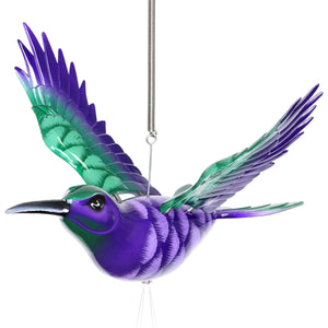 Large WindyWings Hummingbird Wind Chime, 13 by 24 Inches