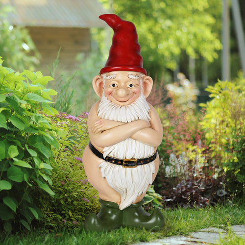 Naked Garden Gnomes for Sale by Exhart