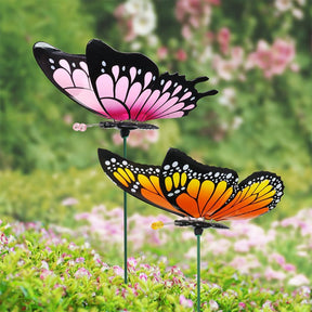 2pk Large WindyWings Butterfly Stakes, 11 inch wingspan