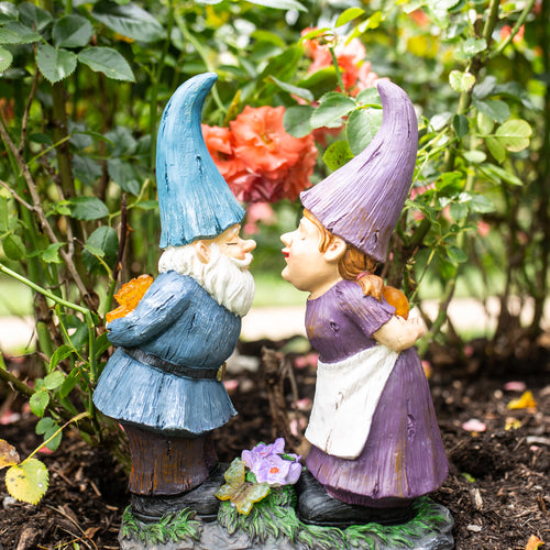 Kissing Garden Gnomes for Sale by Exhart