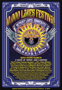 10,000 Lakes 2004 Festival Poster