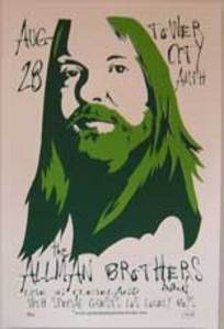 Allman Brothers Band TCA '04 Concert Poster