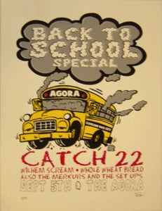 Back To School Special Concert Poster