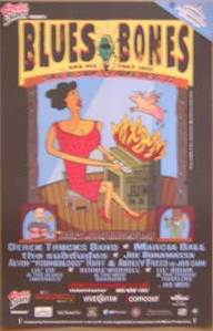Blues and Bones 2003 Concert Poster