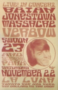 Brian Jonestown Massacre Portland Poster