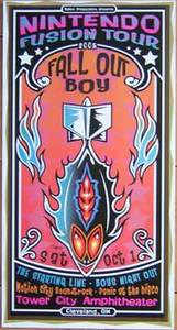 Fall Out Boy Cleveland Concert Poster