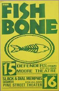 Fishbone Defenders Early Concert Poster
