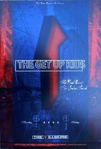 Get Up Kids NF524 Fillmore Concert Poster