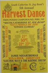 Harvest Dance 5th Annual Concert Poster