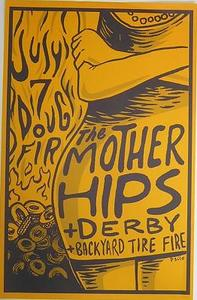 Mother Hips Doug Fir Portland Concert Poster