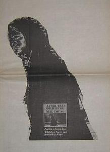 Band Stage Fright Rare 1970 LP Promo Poster Type Ad