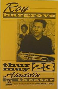 Roy Hargrove Portland Jazz Concert Poster