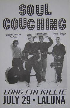 Soul Coughing Rare Early 1990's La Luna Concert Poster