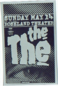 The The Roseland Punk Flyer Concert Poster