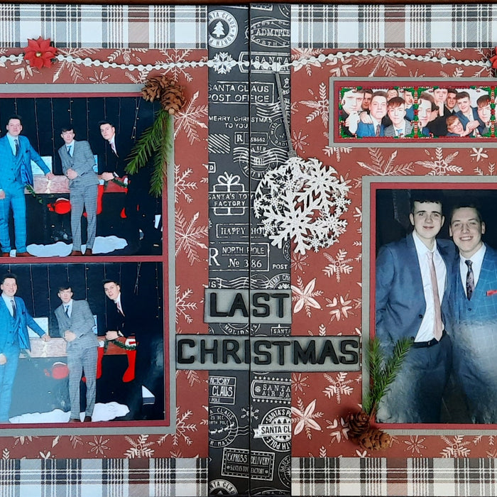 LAST CHRISTMAS - Double Layout