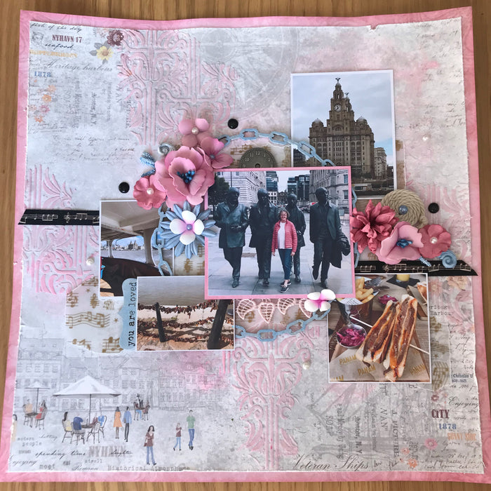 Liverpool Layout by SUE CREASE