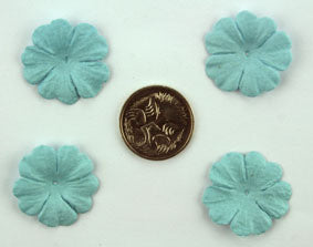 Sky Blue 2.5cm single flower