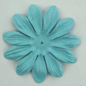 Sky Blue 7cm single flower