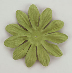 Green 6cm Single Flower
