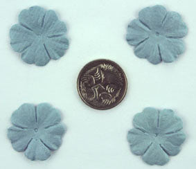 Blue Grey 2.5cm Single Flower