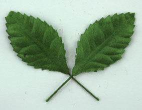 Green Paper Leaves - Single 3.5cm Leaf