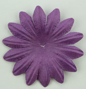 Purple 5cm Single Flower