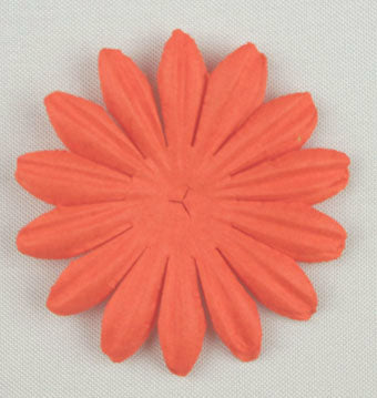 Orange 4cm Single Flower
