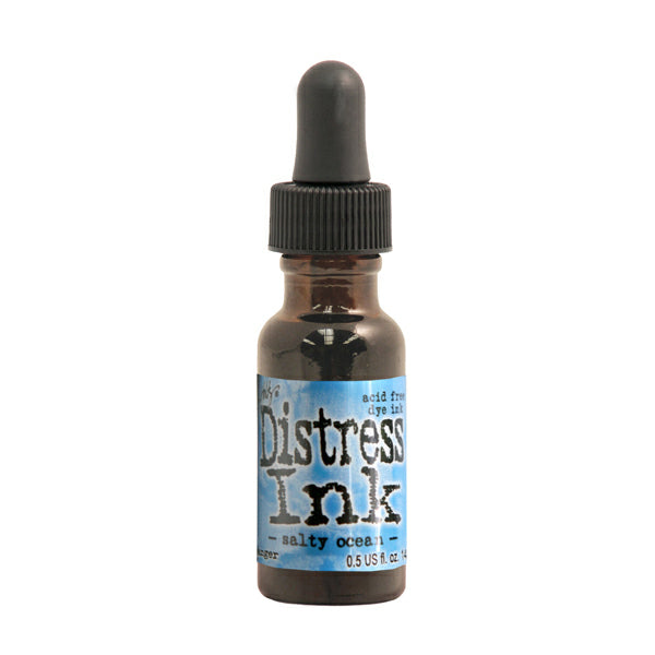 Tim Holtz Distress Ink Reinker - Salty Ocean