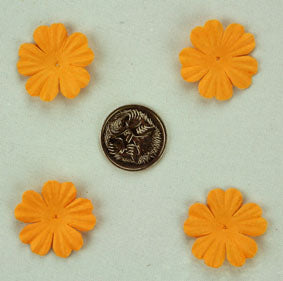 Gold 2.5cm Single flower